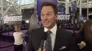 'Avengers: Endgame' Premiere: Chris Pratt [Video]