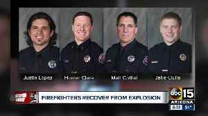 Four Valley firefighters facing long road to recovery after explosion in Surprise [Video]