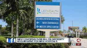 Lee Health concerned over bill that might change 'Certificate of Need' [Video]