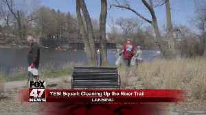 Yes Squad: Earth Day - Cleaning Up The Banks of the Grand River [Video]