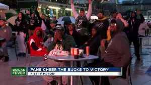 Bucks fans show out in full force [Video]