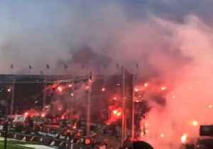 Fans of PAOK Football Club Celebrate First League Title in 34 Years [Video]