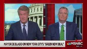NYC Mayor de Blasio: 'We Are Going to Ban' Glass and Steel Skyscrapers [Video]
