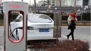 Tesla Model S Catches Fires In China [Video]