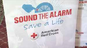 Red Cross installing 100 thousand free smoke alarms [Video]