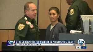 Bond lowered for suspect, Lei Wang, in Jupiter spa prostitution case [Video]