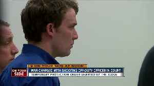 Man charged in shooting of off-duty police officer, son while hunting in court today [Video]