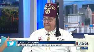 Shriners' child ID program at fair [Video]