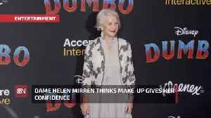 Dame Helen Mirren Likes To Experiment With Make-Up [Video]