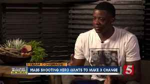 James Shaw Jr.: The hero, survivor and advocate [Video]