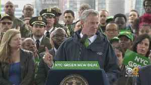 De Blasio Unveils NYC Green New Deal [Video]