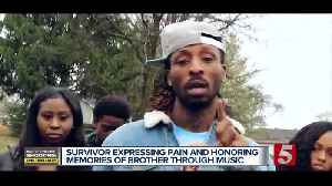 Survivor expresses pain, honors memory of brother [Video]