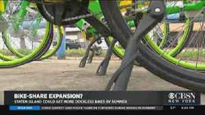 Bike Share Could Expand On Staten Island [Video]