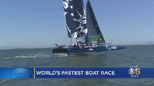 Newest America's Cup Sailboats Mean World's Fastest Boat Race Will Be Even Faster [Video]
