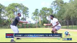 Te'Von Coney excited for NFL Draft [Video]