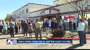 Crisis center opens in Caldwell to provide free alternative to jails and ERs [Video]