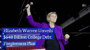 Elizabeth Warren Promises To Pay Your Student Debt [Video]