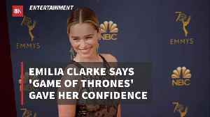 Emilia Clarke Gets A Huge Confidence Boost [Video]