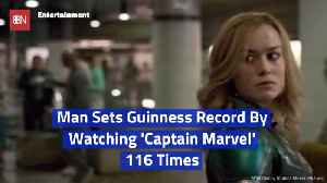 Here's A 'Captain Marvel' Super Fan [Video]