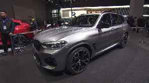 The new BMW X3 M at Auto Shanghai 2019 [Video]