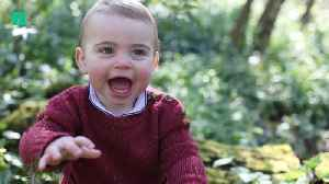 Prince Louis Turns One! [Video]