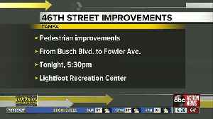 Pedestrian improvements could be coming to 46th Street in Tampa [Video]