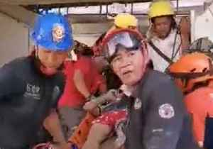 Survivors Rescued From Rubble After Earthquake Hits Philippines [Video]