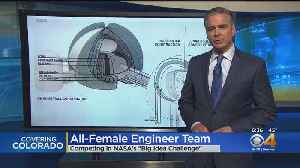 All-Female Engineer Team Competes In NASA Challenge [Video]