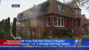 Man Found Dead In North Mayfair Fire; 6 People Escape [Video]