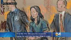 Trial Set For Yujing Zhang, Accused Of Lying To Get Into Trump's Mar-A-Lago [Video]