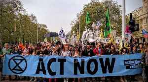 MPs welcomed by Extinction Rebellion on their return from Easter recess [Video]