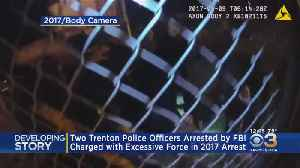 Trenton Officer, Former Officer Arrested By FBI [Video]