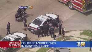Standoff In Dallas Ends With Suspect In Custody [Video]