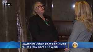 Lawmaker Apologizes For Claiming Some Nurses 'Play Cards' At Work