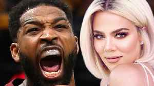 Trashy Tristan Thompson Now BLAMES Khloe Kardashian For RUINING His Reputation! [Video]