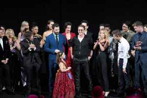 News video: 'Avengers: Endgame' Stars Make Emotional Speeches at Premiere
