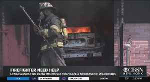 Urgent Call For Volunteer Firefighters On Long Island [Video]