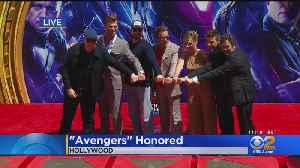Original 'Avengers' Stars Immortalized At TCL Chinese Theatre [Video]