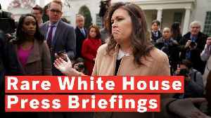 It's Been A Record 43 Days Since The Last White House Press Briefing [Video]
