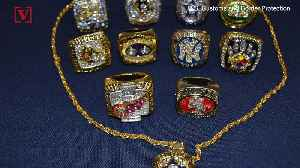 They Look Real! But These Fake Professional Sports Rings Were Seized at JFK [Video]