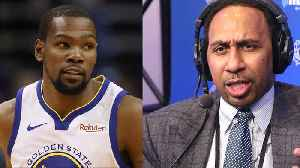 Stephen A Smith Makes MASSIVE Prediction That Kevin Durant Is Headed To Clippers! [Video]