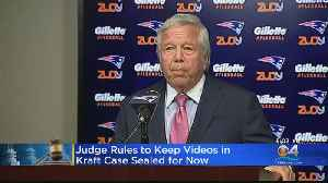 Judge Orders Video In Robert Kraft Case To Be Temporarily Sealed [Video]