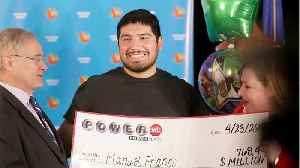 Winner Of Third-Largest U.S. lottery Jackpot Comes Forward [Video]