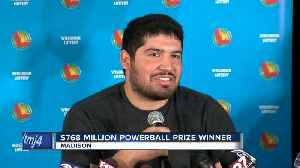 West Allis man comes forward as Powerball prize winner [Video]