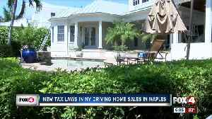 Realtors: high taxes in other states are driving Southwest Florida homes sales [Video]