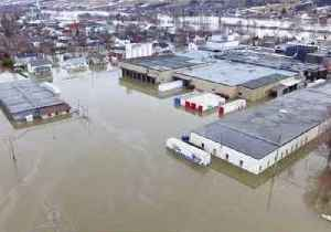 Heavy Rains and Rising Water Levels Leave Quebec's Sainte-Marie Flooded [Video]