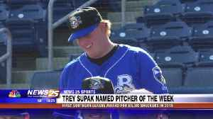 Trey Supak named Southern League Pitcher of the Week [Video]
