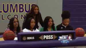Columbus Sends Four Student-Athletes to Next Level [Video]