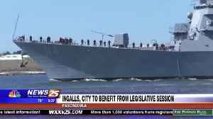 Ingalls and Pascagoula to benefit from legislative session [Video]