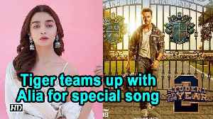 Student Of The Year 2 | Tiger teams up with Alia Bhatt for special song [Video]